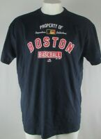 Boston Red Sox Men's MLB Cooperstown Collection Big & Tall S/S Navy Tee 2XL-5XT