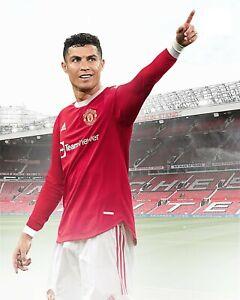 Cristiano Ronaldo Manchester United Old Trafford A4 Photo Print