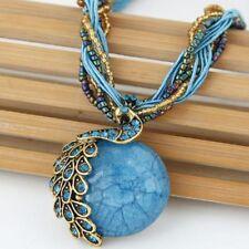 Round Bohemian Charm Costume Necklaces & Pendants