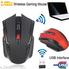 2.4 ghz sans fil souris défilement OPTIQUE POUR PC PORTABLE ORDINATEUR PRO GAMER