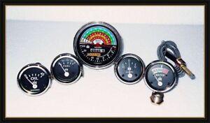 IH Farmall 460,560 Gas/Diesel (Tachometer+Temp+Oil Pressure+Ampere+ Fuel Gauge)