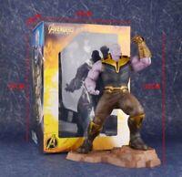 "8"" Avengers Infinity War Titan Hero Series Thanos Action Figure Model Statue Toy"
