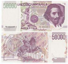Italy P-116c 1992 50000 Lire (Gem UNC)