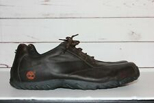 Timberland Men's Brown Size 15M Full Grain Leather Casual Walking Shoes 55036