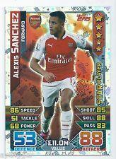 2015 / 2016 EPL Match Attax Star Player (34) Alexis SANCHERZ Arsenal