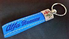 ALFA ROMEO Schlüsselanhänger aus Eko Leder Anhänger 146 147 155 156 159 166 MiTo