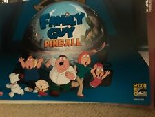"""FAMILY GUY-""""Pinball"""" sdcc 2012 FOX Exclusive Poster #1750-2000"""