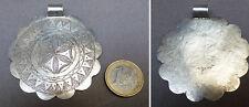 Pendentif ancien en argent massif  silver pendant