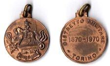 Medaglia Distretto Militare Torino 1870- 1970 Bronzo