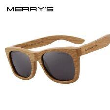 c0d9843cedbb2 MERRY S wood sunglasses lunette soleil bois wayfarer S5140 5 couleurs  fashion