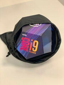 Intel Core i9-9900k Retail Box NO PROCESSOR EMPTY BOX + Silky Black Bag