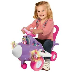 Minnie Mouse Ride On Lights N' Sounds Activity Plane