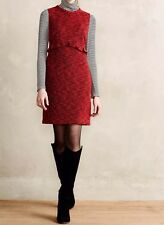 NEW Anthropologie Hi There Karen Walker Charlotte Boucle Sheath Dress Size 10