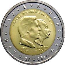 Luxemburg 2 Euro Gedenkmünze Sondermünzen 2005 ST Großherzöge Henri und Adolf
