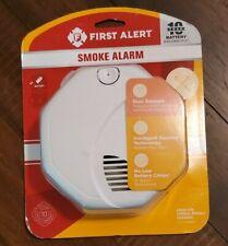 First Alert 10 Year Battery Dual Sensors Smoke Alarm 1039842