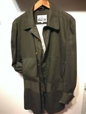 Vivienne Westwood Man Military Green Trench Coat Jacket Mens 52 IT