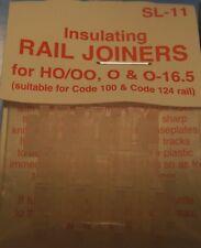 Peco Insulating Rail Joiners HO/OO Code 100 SL-11