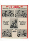 Pubblicità 1970 MOTO BIMM MOTOR CROSS old advertising werbung publicitè reklame