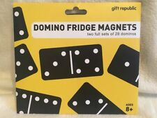 Domino Fridge Magnets by Gift Republic. Two Full Sets Of 28 Dominos