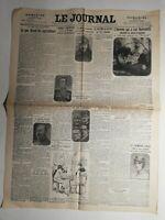 N362 La Une Du Journal Le journal 24 août 1920 l'homme qui a tué romanetti