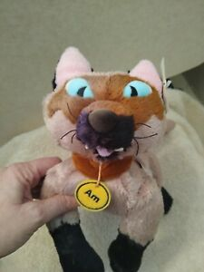Lady And The Tramp AM Plush Toy Doll Siamese Cat Disney Store Authentic Rare