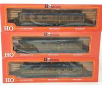 "SUPERB RIVAROSSI 2932 2933 HO - LMS PANELLED ""ROYAL SCOT"" 1st CLASS COACH SET"