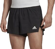 adidas Speed Split Mens Running Shorts - Black