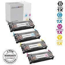 Reman Toner for HP 501A 502A Cartridge Q6470A Black & Color 4pk Set 3600 3600dn
