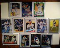 LA Dodgers Rookie, #'ed Auto Lot. Lux RC,Smith Topps Chrome. Muncy RC