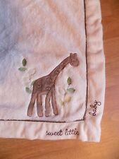 Koala Baby Blanket Sweet Little Giraffe Cream SUPER SOFT Plush