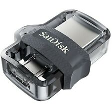 Sandisk Ultra 16GB 32GB 64GB 128GB 256G m3.0 Dual MicroUSB & USB Flash Drive lot