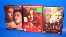 Film SUR DVD à louer lot spécial sensuel-buen estado-3 DVD