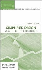 Simplified Design of Concrete Structures (Simplified Design Guides)  NEW