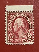 US SCOTT Cat # 634A MNH OG w/ INK ANOMALIES CV $650 2c Washington Stamp FREE S&H