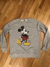 Junk Food X Disney Classic Mickey Mouse Print Graphic Sweatshirt Mens Medium Usa
