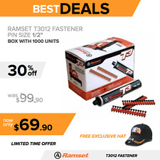 RAMSET T3012 FASTENER, BRAND NEW, FUEL CELL, FREE HAT, FAST SHIPPING