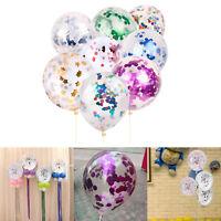 5pcs/Set Confetti Latex Balloons Wedding Birthday Party Baby Shower Decoration