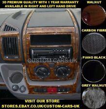 FIAT DUCATO 2006 > MK3/4 Van & CAMPER Dash Kit-noce-Carbonio-Pianoforte Nero