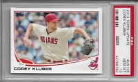 2013 Topps Update Corey Kluber Rookie PSA 10 Gem Mint Yankees RC Graded #US105