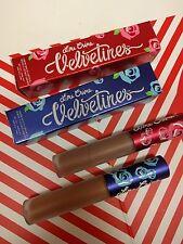 Lime Crime 2pc Set Velvetines Liquid Matte Lipstick Buffy - Cashmere Bnib
