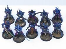 KABALITE WARRIORS x 10  Painted Drukhari Dark Eldar Warhammer 40K Army UY4a
