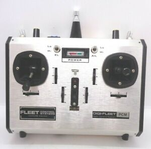 FLEET 7 CHANNEL PCM-MX7 TRANSMITTER 35MHZ COLLECTABLE EXCELLENT CLEAN CONDITION