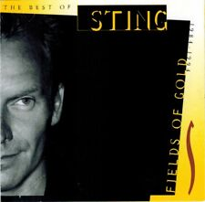STING FIELDS OF GOLD THE BEST OF STING 1984-1994 AUDIO CD 1994 A&M CLUB EDITION