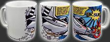 "CHARLIE HARPER UK SUBS ""YELLOW LEADER"" PUNK ROCK 1977 COMIC BOOK COFFEE TEA MUG"