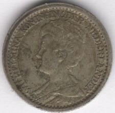 More details for 1914 netherlands 25 cents | european coins | pennies2pounds