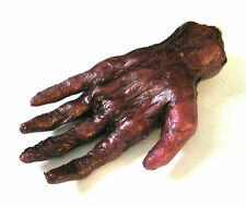 Human Burnt Hand Scary Gory Zombie Body Part  Halloween Party Decoration  Prop