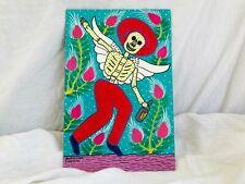 Folk Art Painting by the Lorenzo Family. Mexico. Diablo