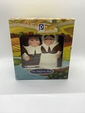 Publix Thanksgiving The Pilgrim Pair Collection Napkin Holder in Box Collectable