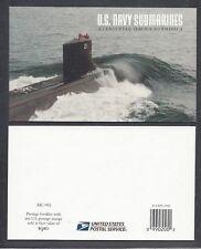 US Scott # 3373-77 / BK279 Navy Submarines Booklet Both Pane's 3377a(1)(2)