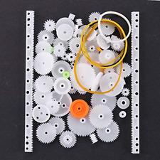 Lucksender 75 Type Plastic Crown Gear Single Double Reduction Gear Worm Gear